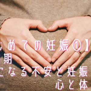 【はじめての妊娠①】妊娠初期 ママになる不安と妊娠による心と体の変化