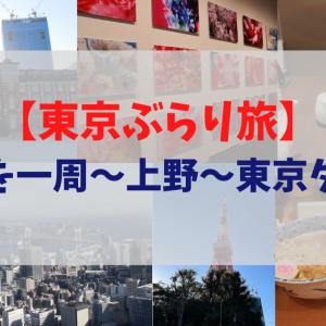 【東京ぶらり旅】皇居を一周~上野~東京タワー