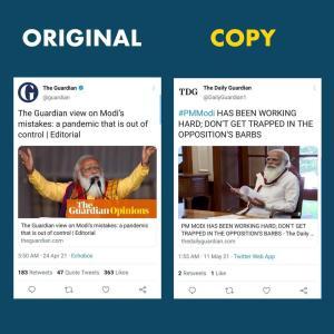 インド政府に欧米メディアのアカパク疑惑 モディ首相を擁護する偽ツイートを拡散していた