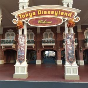 東京ディズニーランド  シャッター街みたい