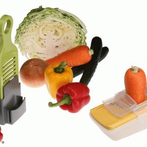 【愛工業 野菜調理器Qシリーズ】このスライサーでプロの仕上がり。