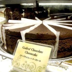 チーズケーキファクトリーのゴディバのチョコレートチーズケーキが食べたい〜♪