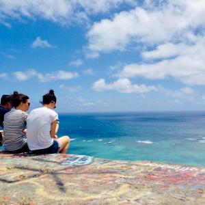 ハワイの日差しが恋しいです〜!