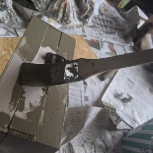 ローデシアンブランで色々塗らせろぃ「1」トランクカーゴとスパイスラック