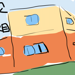 【3棟目】200万円テナント「3」入居者募集看板を作製!