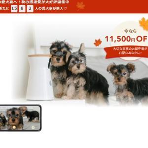 [期間限定] 割引 \11,500 (42%)OFF 愛犬のために開発されたドッグカメラ