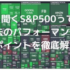 S&P500って何? ポイントと過去のパフォーマンスを徹底解説