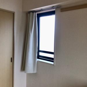 朝日対策に遮光カーテン ニトリからの無印良品
