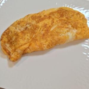 「余った栗の甘露煮のシロップでオムレツ(卵焼き)」自然な甘み!