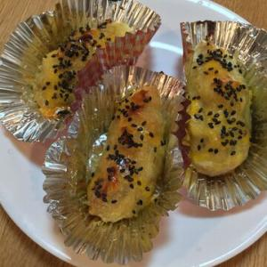 「焼き芋でスイートポテト」さつまいもを使うより甘い