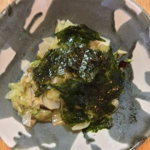 「レタスとにんにくの韓国風炒めサラダ」ピリ辛!&にんにくの良い香り