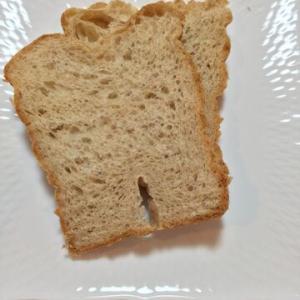 「ホームベーカリーで、自家製ライ麦粉パン」市販のパンと同じライ麦の香りになった!