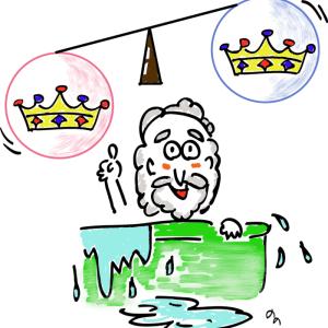 お風呂で発見 浮力の原理