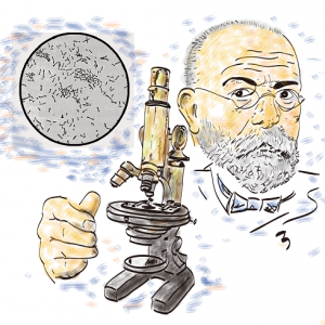 妻が贈った顕微鏡 ミクロの世界の探検家に