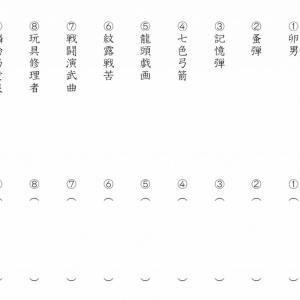 【漫画】この念能力なんて読む?「HUNTER×HUNTER」漢字テスト