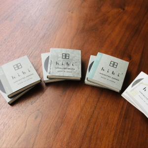 お香スティック【hibi】を数種類試してみました。それぞれの香りをレビュー!!