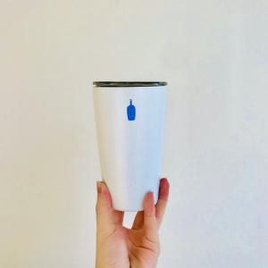 在宅時間に珈琲とデザインを楽しむ。ブルーボトルコーヒーの【コミューターカップ】を購入。レビューも合わせて