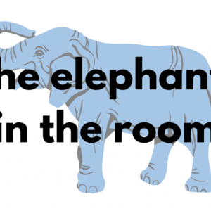 the elephant in the roomの使い方