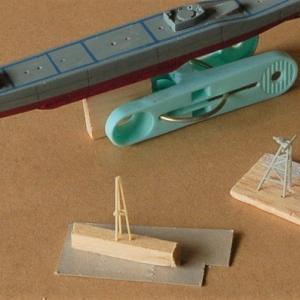 海上自衛隊護衛艦「はるさめ」を作る (マスト製作)