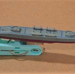 1/700海上自衛隊護衛艦「はるさめ」を作る  (ボートをつける)