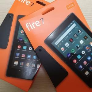 【2019年版】Fire7タブレットを2台買う。子供が喧嘩するからな!