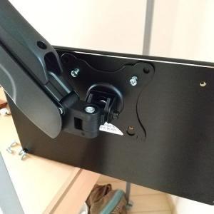 パソコンのサブディスプレイをモニターアームに取り付けてみたら快適だった
