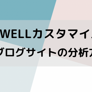 【初心者向け】SWELL|自分のブログサイトの分析方法