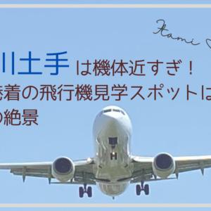 機体近すぎ!「千里川土手」伊丹空港着の飛行機見学スポットはド迫力の絶景