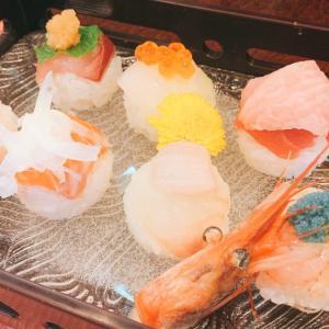 冨久寿司の平日限定「手毬寿司ランチ」味・映え・値段・ボリューム全て満点