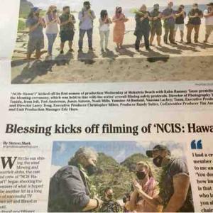 「NCIS:HAWAIIハワイ」撮影開始