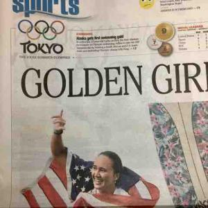 ハワイ出身が101年ぶりの金メダル