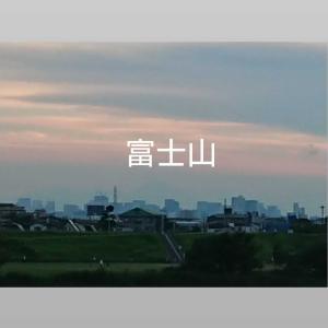 江戸川の夕方
