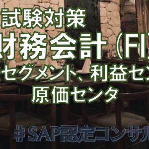 【認定試験対策】財務会計(FI)2-4.セグメント、利益センタ、原価センタ