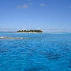 マニャガハ島へパラセイリングで