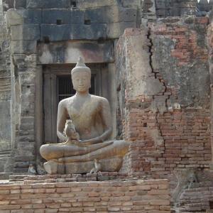 猿の町。タイのロッブリー。