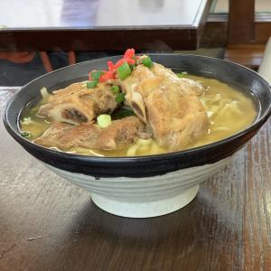 沖縄そば超有名店「我部祖河食堂」でもちろん!ソーキそば!(沖縄県名護市)