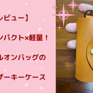 【レビュー】本革×コンパクト×軽量! スタイルオンバッグの栃木レザーキーケース