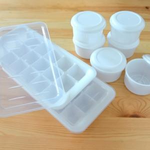 製氷皿から凍らせたものをうまく取り出すにはちょっと溶かす