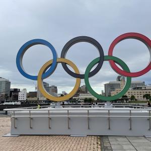 オリンピックに向け五輪モニュメントが出現!横浜赤レンガパーク