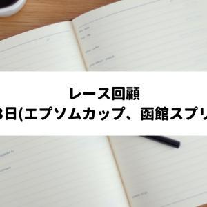 【レース回顧】2021年6月12日、6月13日 エプソムカップ、函館スプリントS他