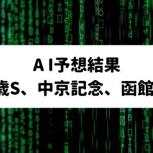 【AI予想結果】2021年7月17日、18日