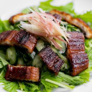 うなぎときゅうりの酢の物(うざく)サラダのレシピ・作り方