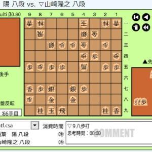 竜王戦1組出場者決定戦~稲葉陽八段vs山﨑孝之八段