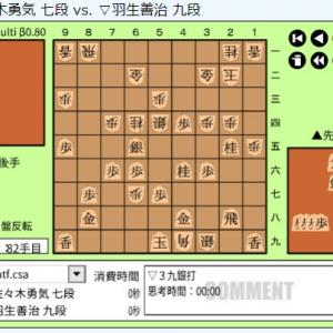 第4回ABEMAトーナメント予選Cリーグ第三試合~佐々木勇気七段vs羽生善治九段