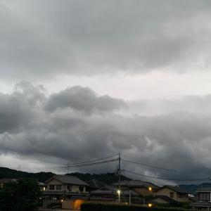 雨はじまりましたねー