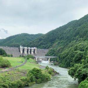 日吉ダムにいってきましたよー(ダムカード入手+ダムカレーを食す!)