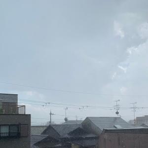 今日は天候がめまぐるしく変わる一日でしたよ