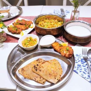インド料理&トールペイント&骨盤底筋エクササイズ&墨彩画&ピラティス