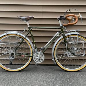 日本一周用の自転車を購入しました 片倉SC15のフレーム