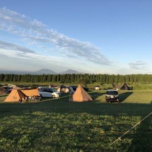 久住高原ボイボイキャンプ場② 九州のど真ん中! 山間からの夕日と日の出が見れました!